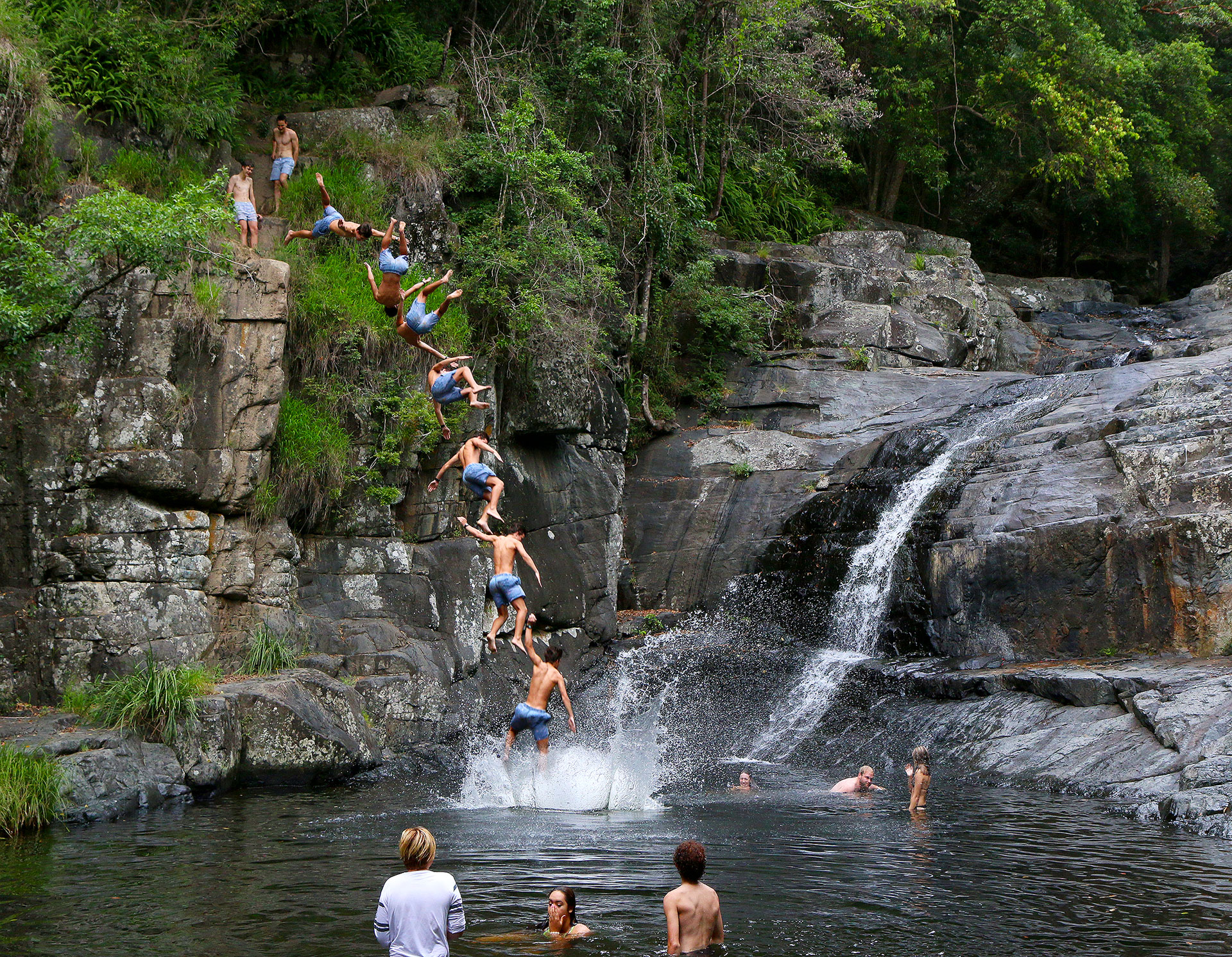 Cedar creek falls sat 21st to sun 22nd nov 2015 ned for Ceader creek