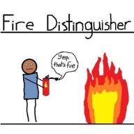 Fire distinguisher