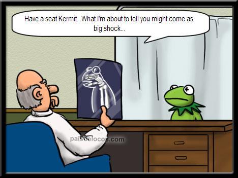 Kermit pri zdravniku